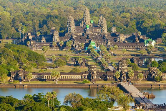 Cheap holiday destination country Cambodia in Asia