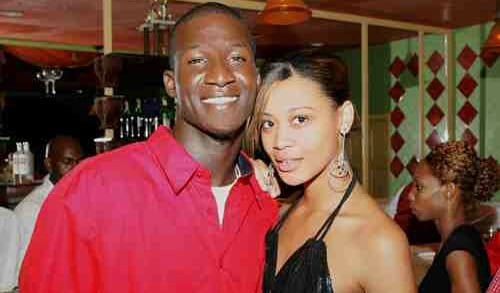 West Indies cricketer Darren Sammy wife Cathy Daniel