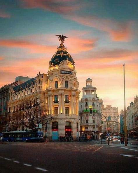 Most visited country Spain in the World
