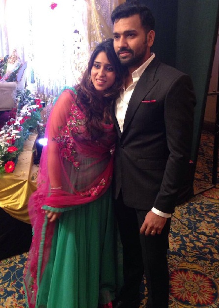 The Most Beautiful Indian Cricketer Rohit Sharma Wife Ritika Sajdeh
