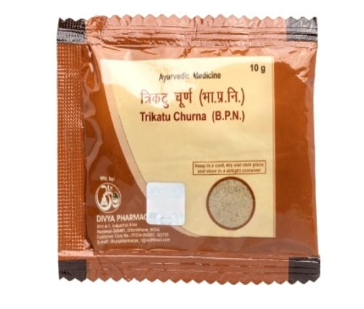 Trikatu Churna For Cough