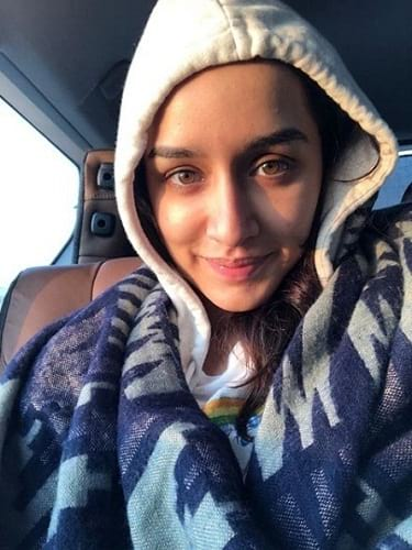 Picture of bollywood actress Shraddha Kapoor without makeup