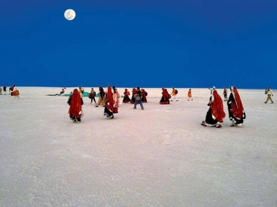 White desert is the best place in Gujarat.