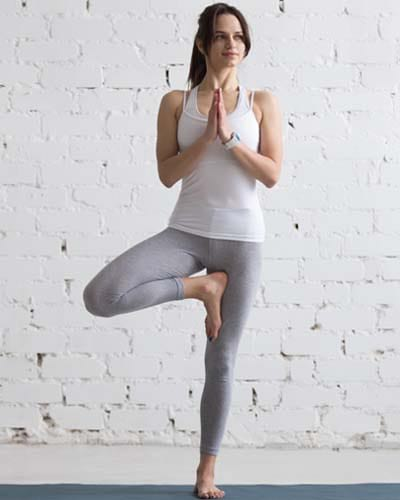 Tree Pose for arthritis patients