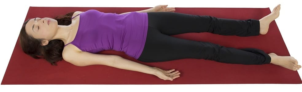 savasana for stress management and relaxation