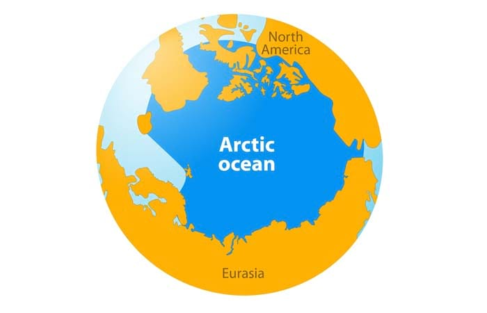 Smallest Ocean In The World Arctic Ocean