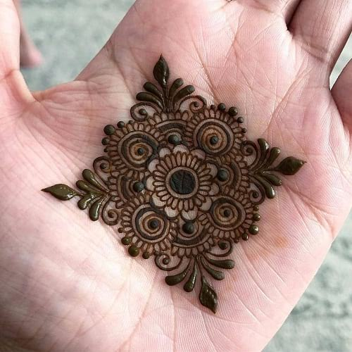 10 Simple and Easy Mehndi Designs for Kids