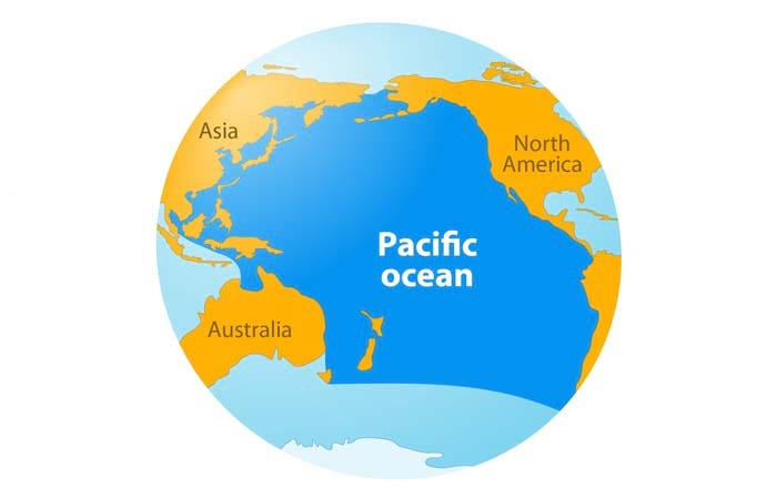 Biggest Ocean In The World Pacific ocean