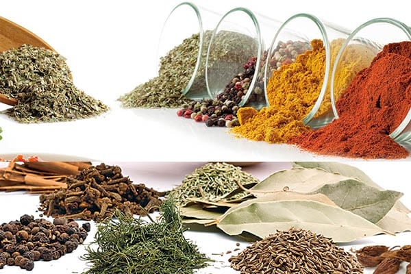 Essential spices products we get from forest.