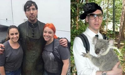 Pictures of Marilyn Manson (Brian Hugh Warner) without makeup