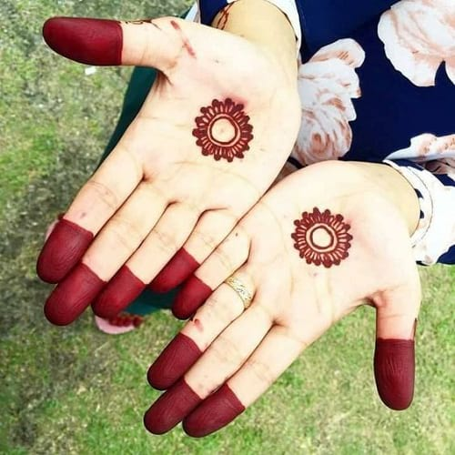 Simple henna patterns for kids hands