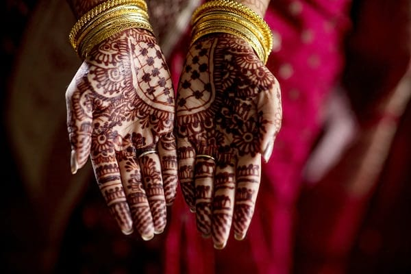 Traditional Rajasthani Mehndi Design for Hands