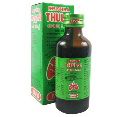 Ayurvedic Syrup for Cough and Cold