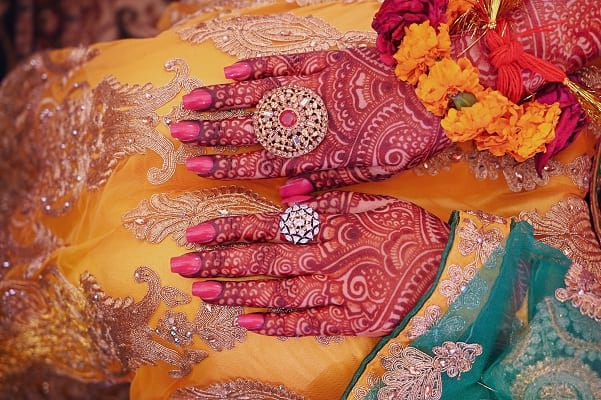 Back Hand Mehndi Design Bridal