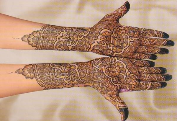 New Asha Sawla Mehandi Designs