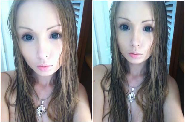 Picture of Human Barbie Without Makeup