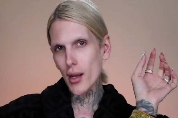 Image of Jeffree Star With No Makeup