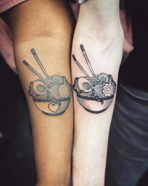 Couple Matching Tattoos