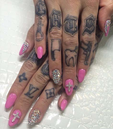 Finger Tattoo Symbols
