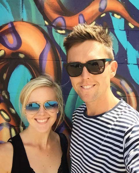 New Zealand Cricketer Trent Boult Wife