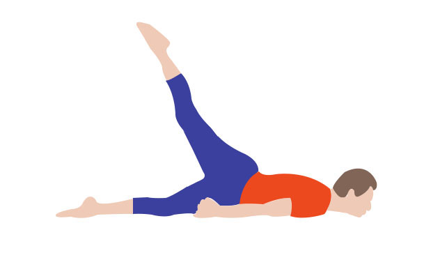 Yoga Pose to Reduce Upper Back Fat