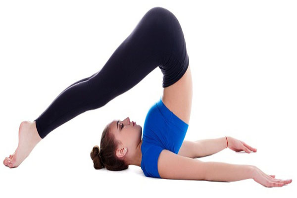 Yoga Pose to Reduce Hips, Thighs and Buttocks