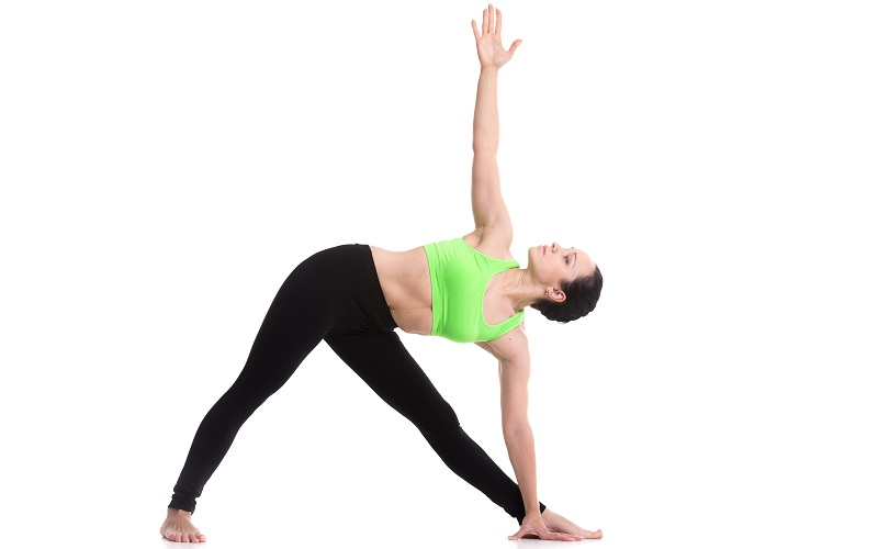 Yoga Pose to Lose Thigh and Hip Fat