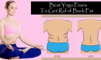 Poses In Yoga for Back Fat